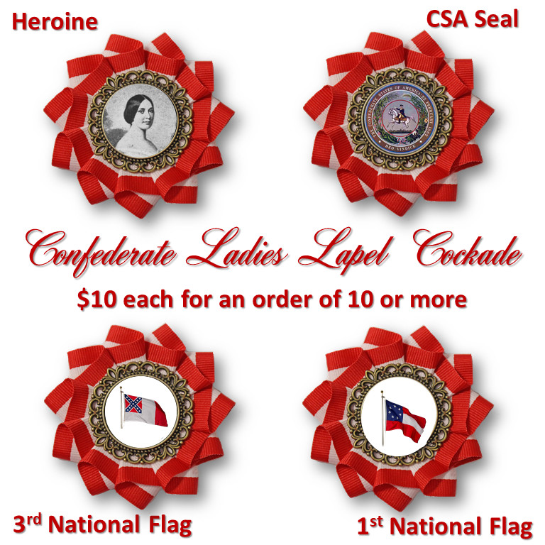 CSA Ladies Lapel Cockade