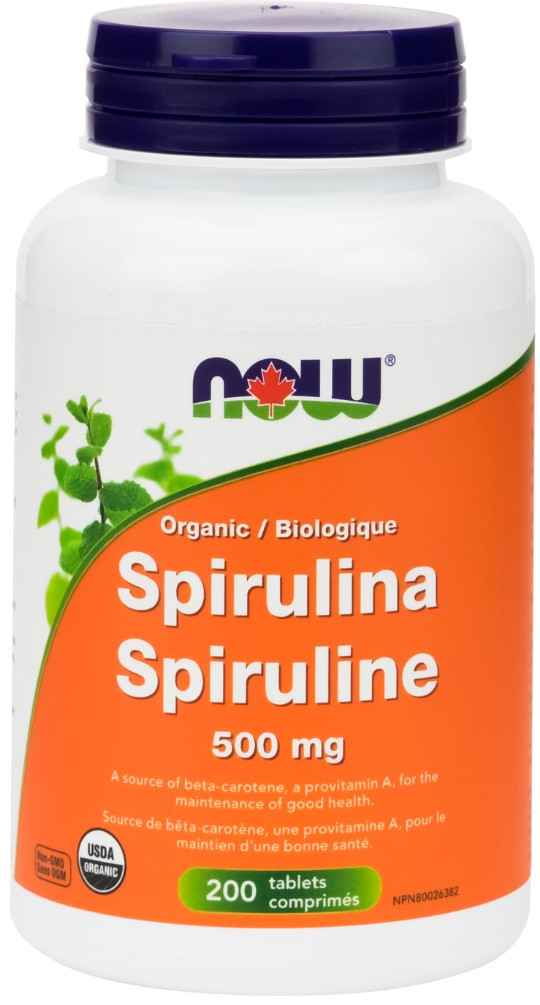 Spirulina Tabs by Now