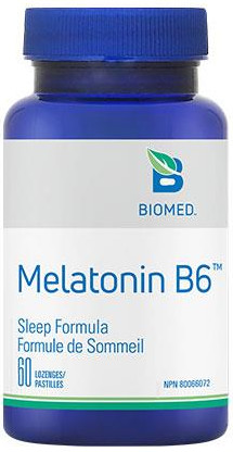 Melatonin + B6 (10mg High Dose) by Biomed