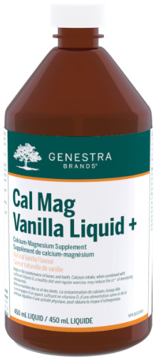 Cal Mag Vanilla Liquid + by Genestra