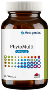 PhytoMulti Capsule No Iron by Metagenics