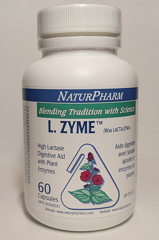 L. Zyme (Dairy Digest) by NaturPharm