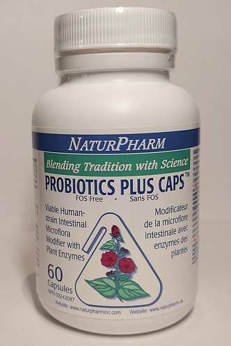Probiotic Plus Caps Dairy Free by NaturPharm