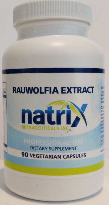Rauwolfia Blood Pressure (Prescription) by Natrix Nutraceuticals