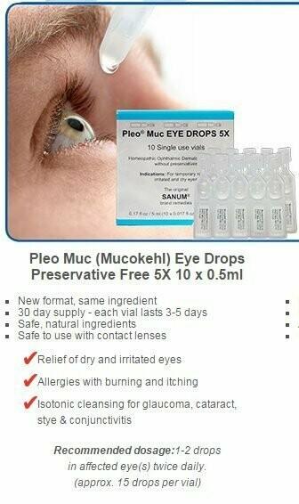 Sanum Pleo MUC Eye Drops by Biomed