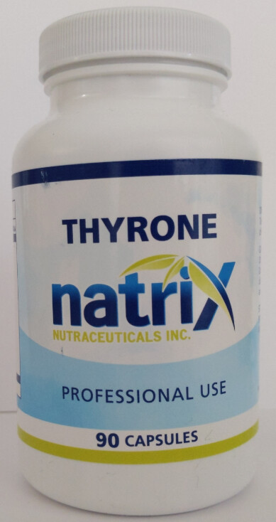 Thyrone Desiccated Thyroid by Natrix Nutraceuticals