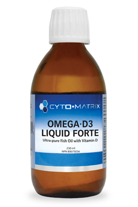 Omega-D3 Liquid Forte by Cyto-Matrix