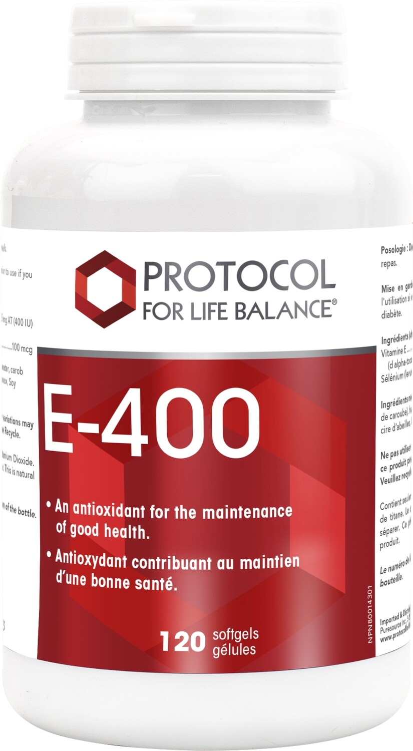E-400 by Protocol for Life Balance