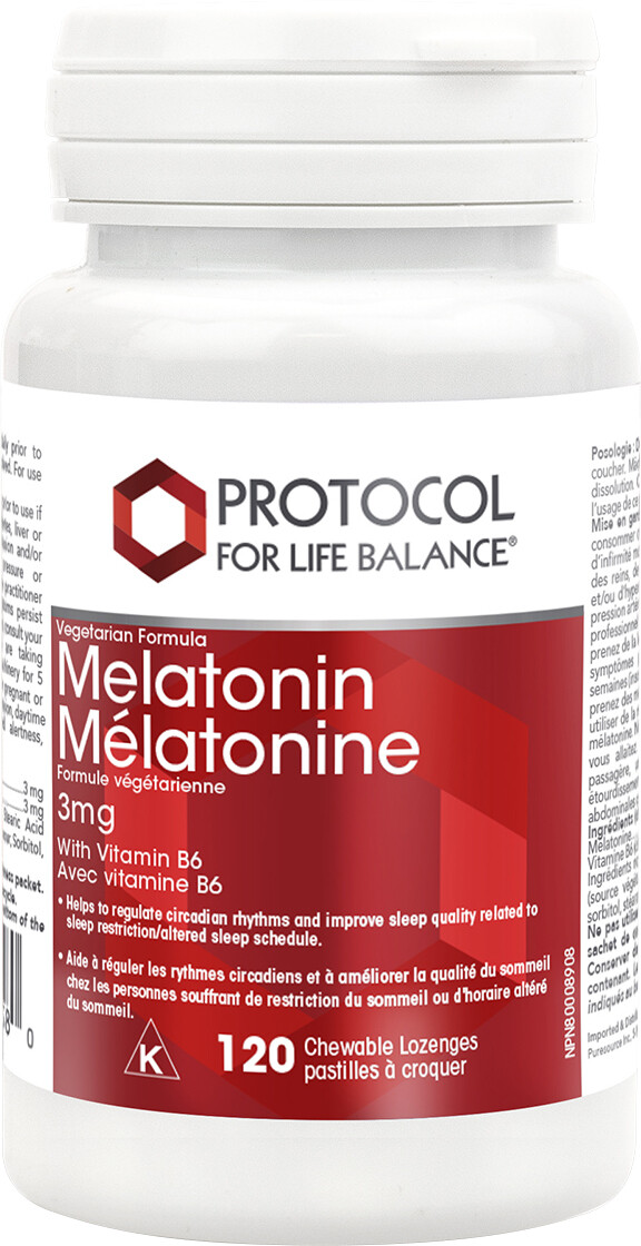 Melatonin by Protocol for Life Balance
