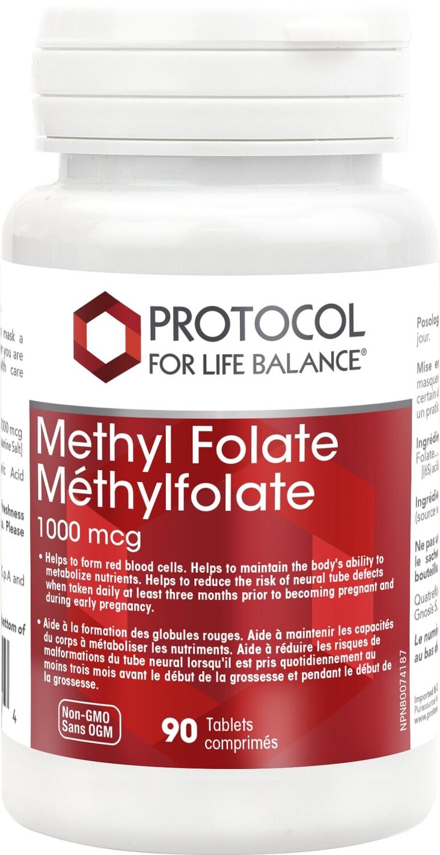 Methyl Folate by Protocol for Life Balance