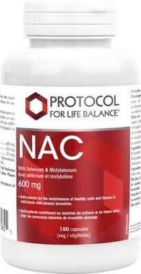 NAC 600mg by Protocol for Life Balance