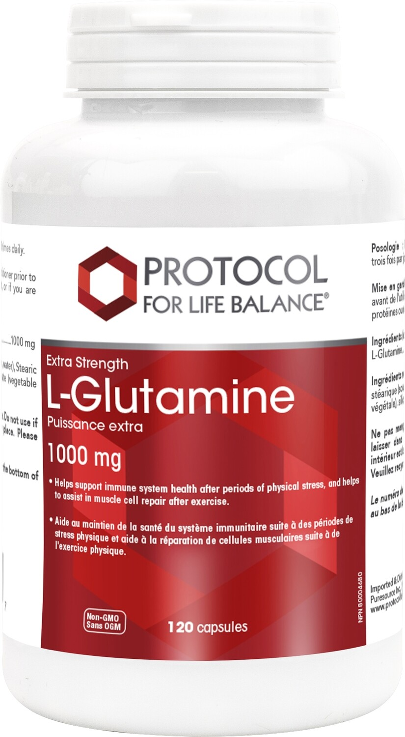 L-Glutamine by Protocol for Life Balance