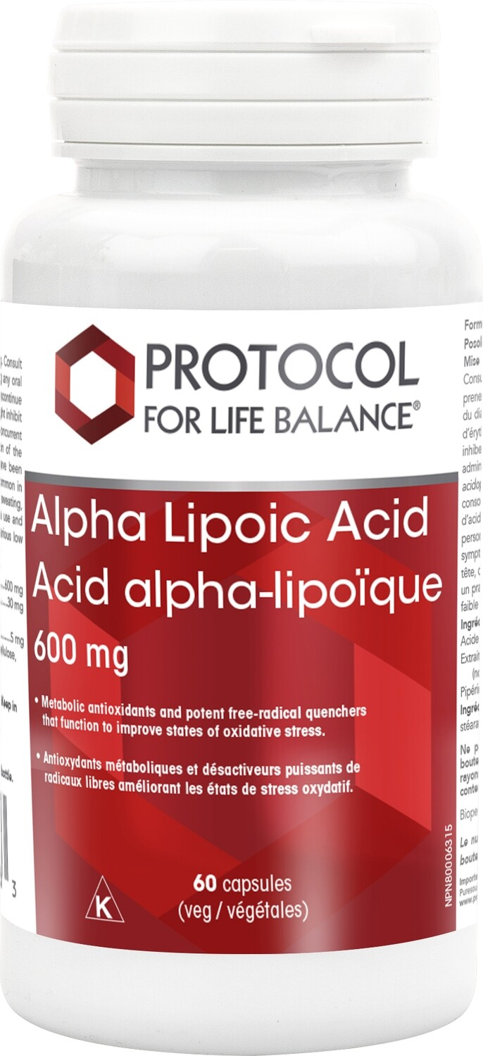 Alpha Lipoic Acid by Protocol for Life Balance