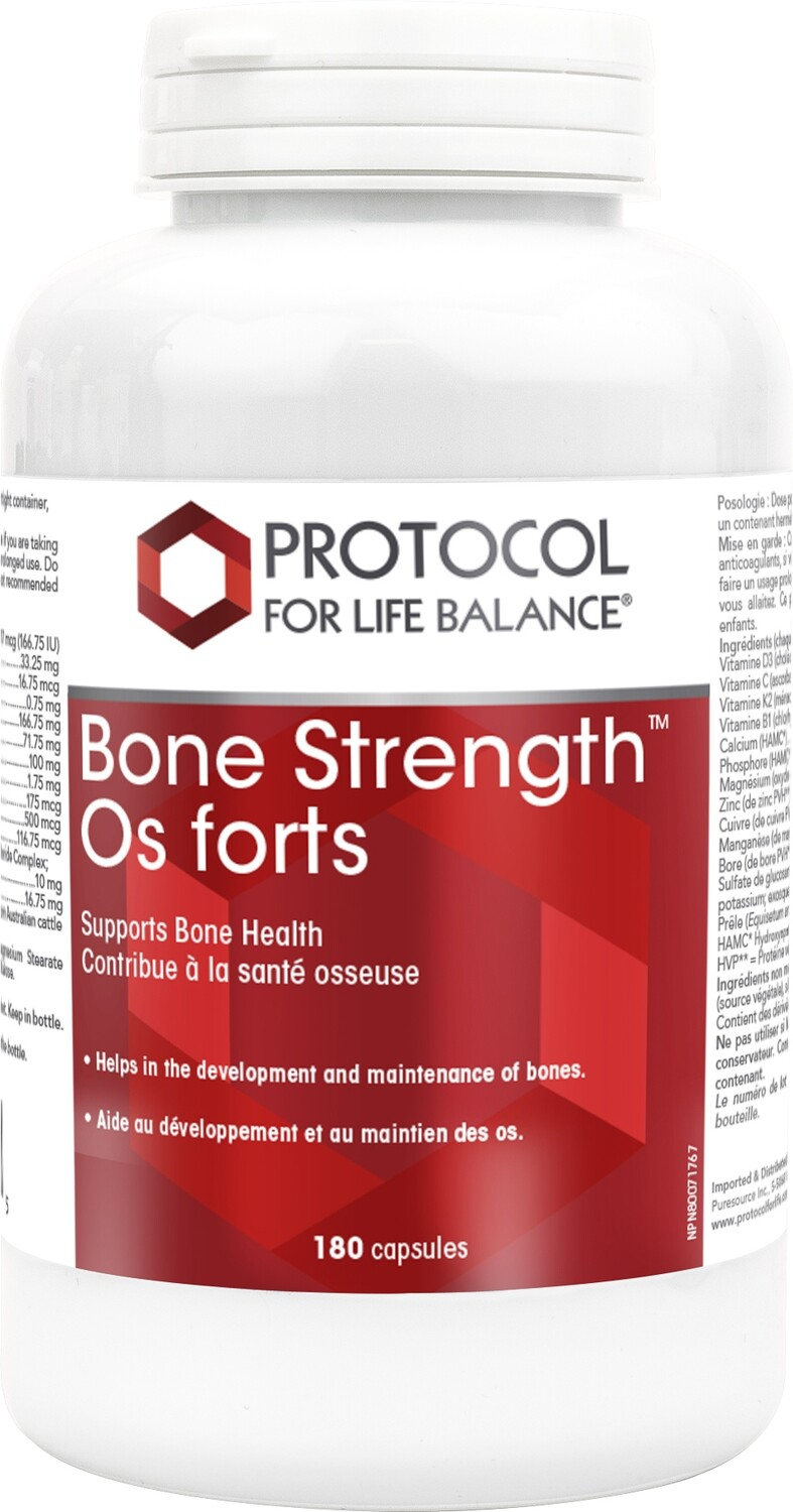Bone Strength by Protocol for Life Balance