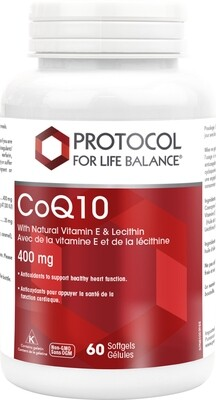 CoQ10 400mg by Protocol for Life Balance