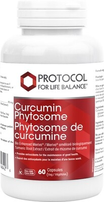 Curcumin Phytosome by Protocol for Life Balance