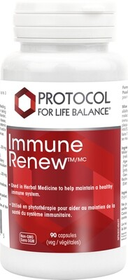 Immune Renew by Protocol for Life Balance
