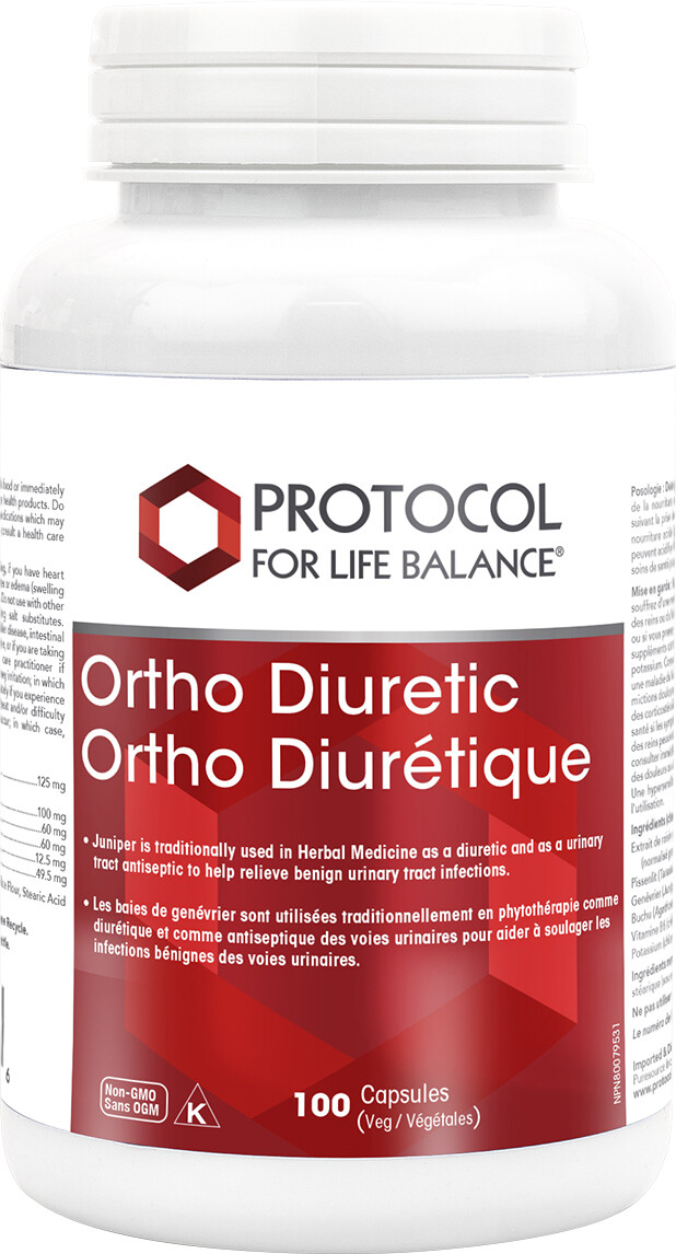 Ortho Diuretic by Protocol for Life Balance