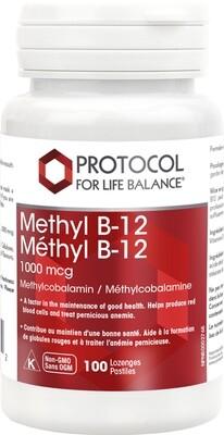 B-12 1000 mcg by Protocol for Life Balance