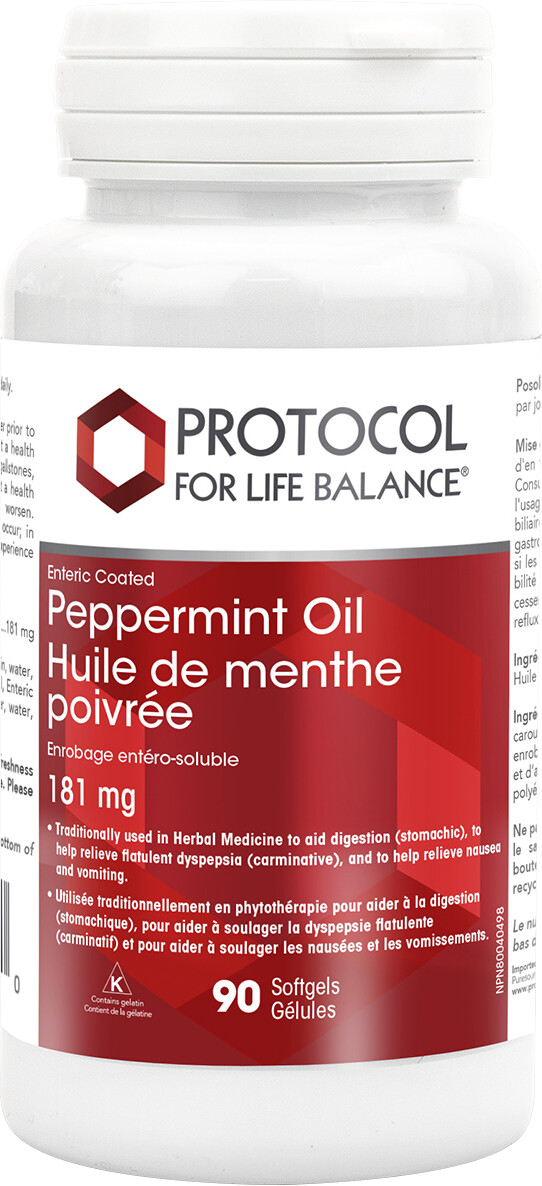 Peppermint Oil by Protocol for Life Balance