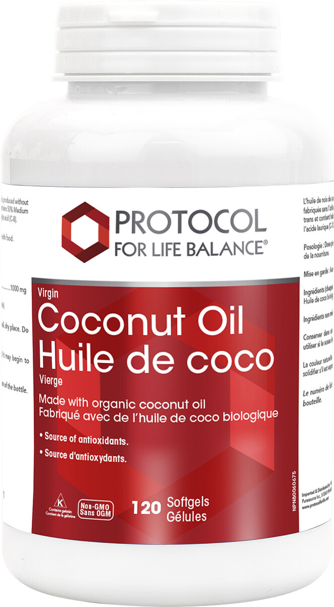 Coconut Oil by Protocol for Life Balance