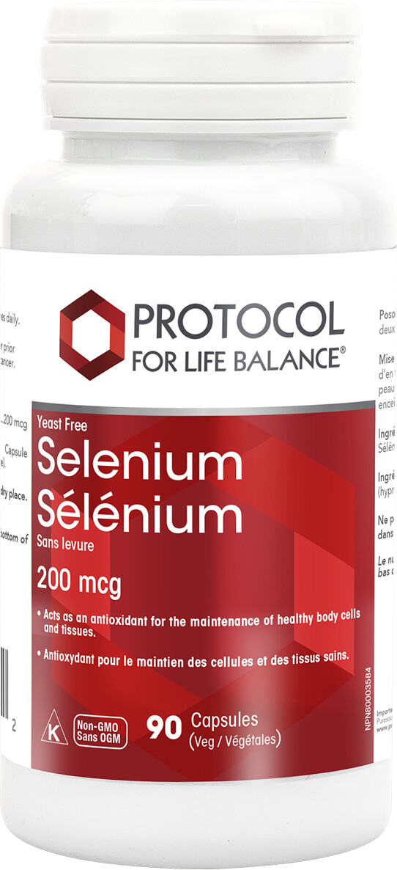 Selenium by Protocol for Life Balance