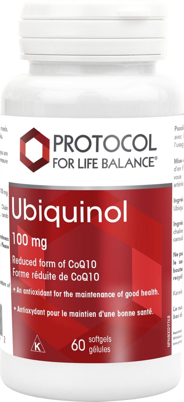 Ubiquinol 100mg by Protocol for Life Balance