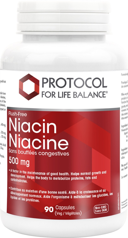 Niacin Flush Free by Protocol for Life Balance