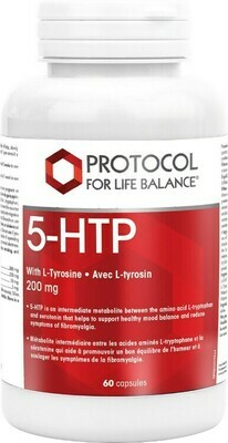 5-HTP 200mg by Protocol for Life Balance