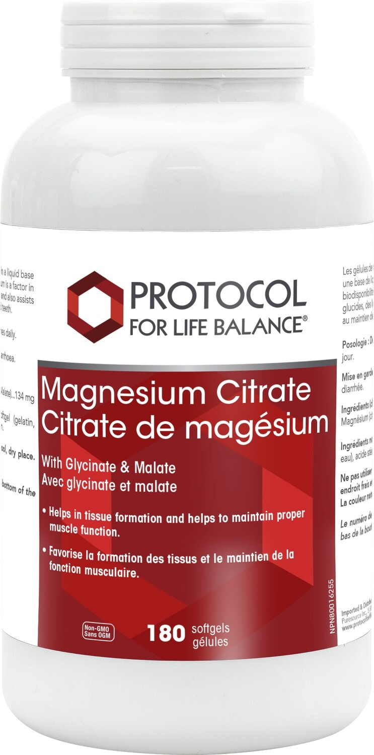 Magnesium Citrate Gels by Protocol for Life Balance