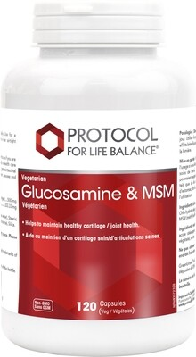 Glucosamine & MSM by Protocol for Life Balance