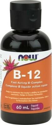 B-12 Liquid (Cyanocobalamin) by Now