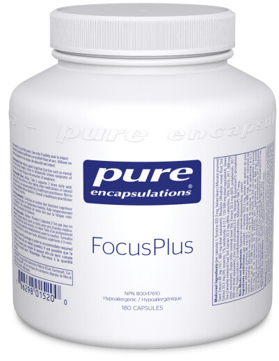 Focus Plus (Dopa Plus) by Pure Encapsulations