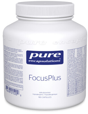 Focus Plus (Dopa Plus) by Pure Encapsulations