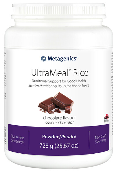 Ultra Meal Rice Protein Chocolate by Metagenics