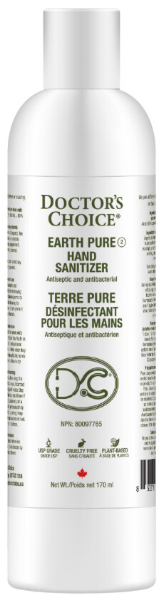 Earth Pure Hand Sanitizer by Doctors Choice