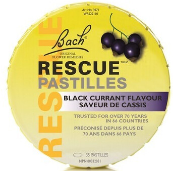 Rescue Remedy Pastilles by Bach