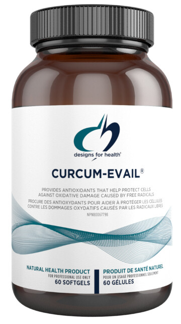 Curcumin Evail by Designs for Health
