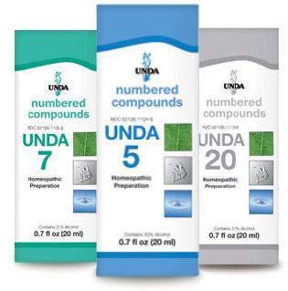 Unda Numbers - Condition Specific