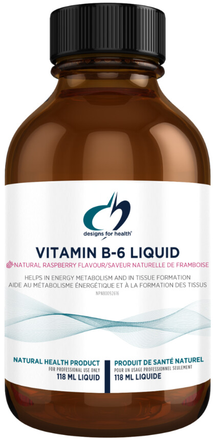 Vitamin B-6 Liquid by Designs for Health