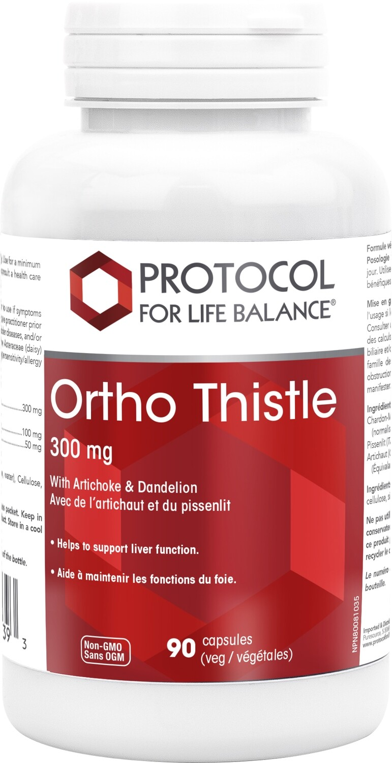 Ortho Thistle by Protocol for Life Balance