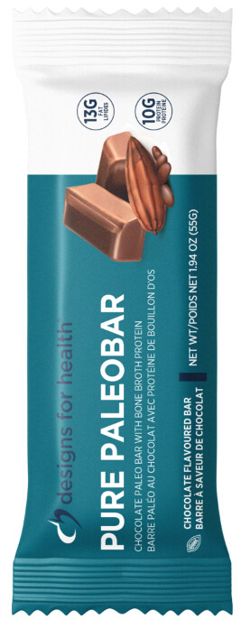[ Box of 12 Bars ] Pure Paleo by Designs for Health