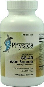 GB-40 Yuan Source (Stones) by Physica Energetics