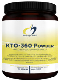 KTO-360 (Keto) Powder by Designs for Health