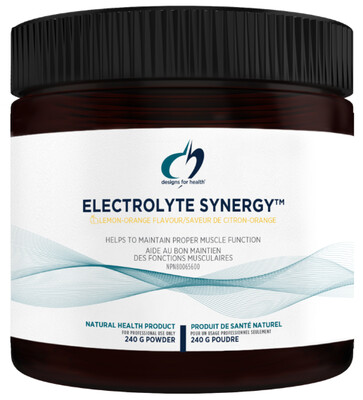Electrolyte Synergy by Designs for Health