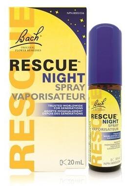 Rescue Night Spray by Bach