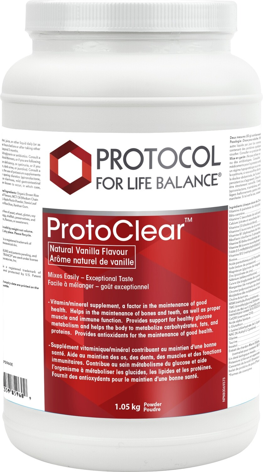 Proto Clear by Protocol for Life Balance