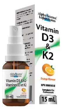 D3 & K2 Spray by Alpha Science