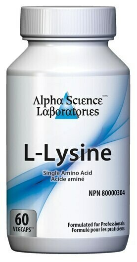 L-Lysine by Alpha Science