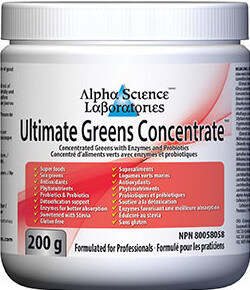 Ultimate Greens Concentrate Powder by Alpha Science